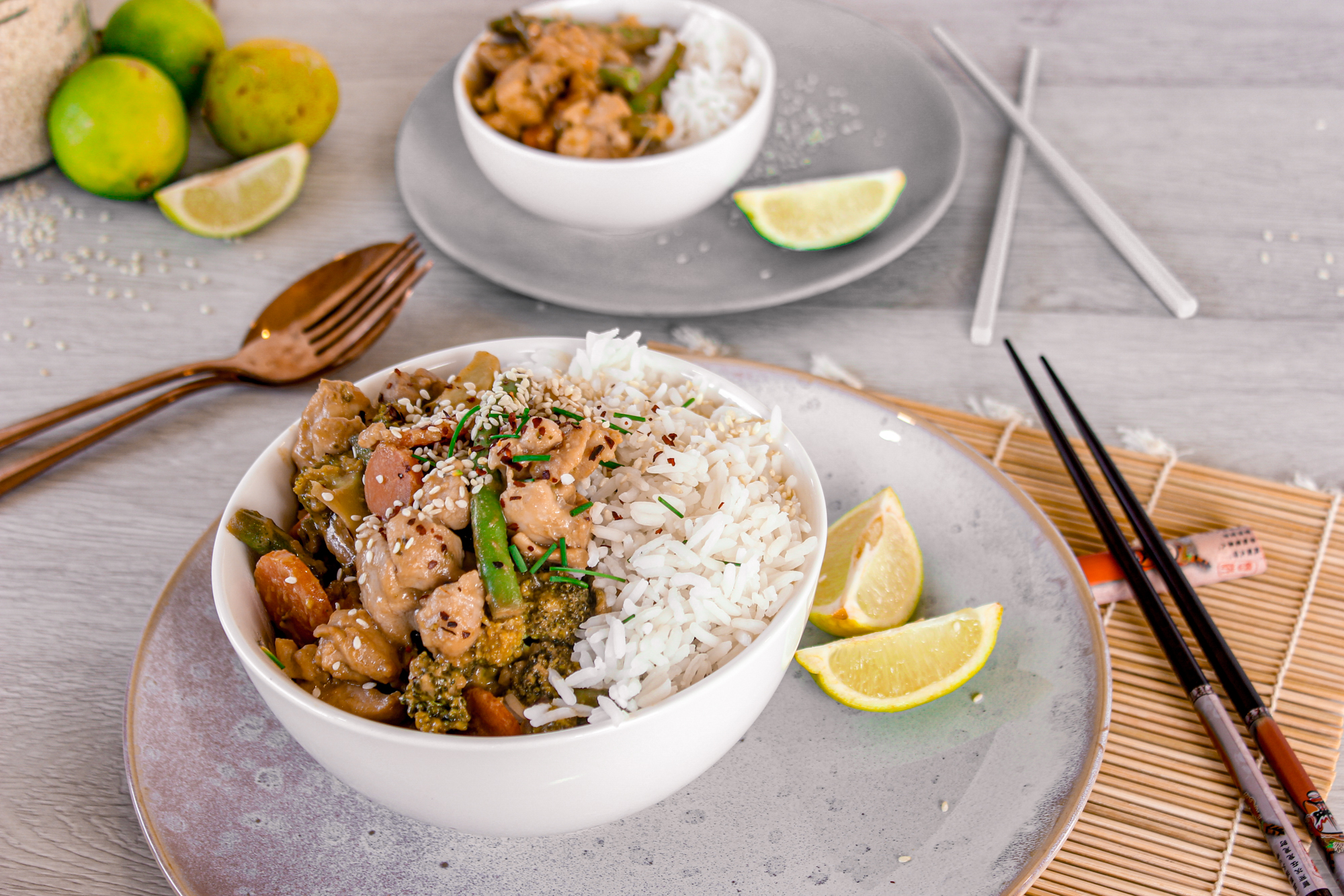Satay Chicken Stir Fry