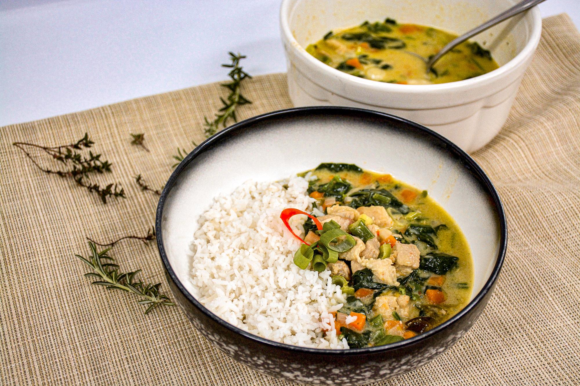 Pork Thai Curry