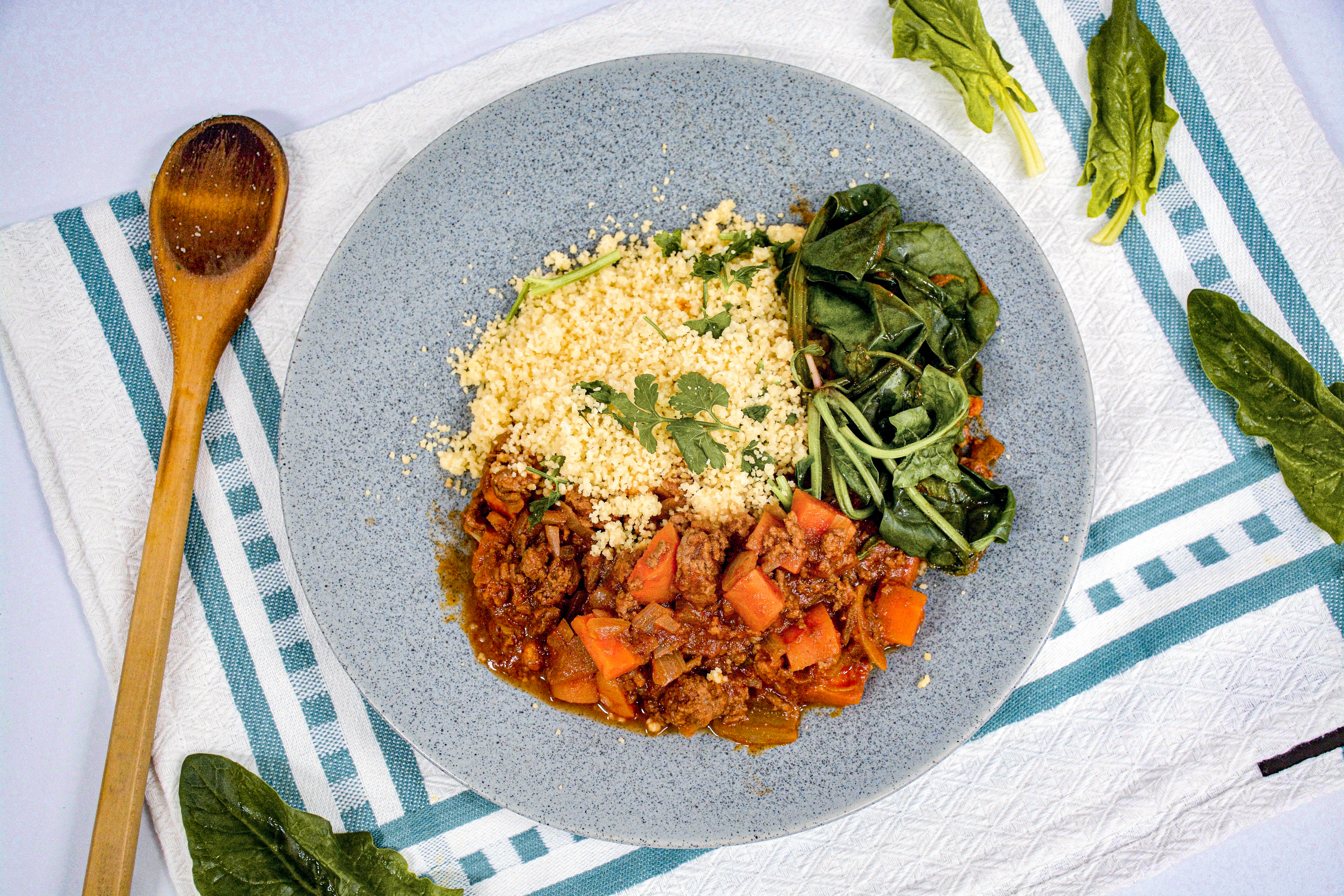 Moroccan Beef Couscous Bowl